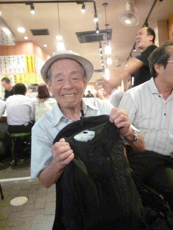 El conductor del shinkansen