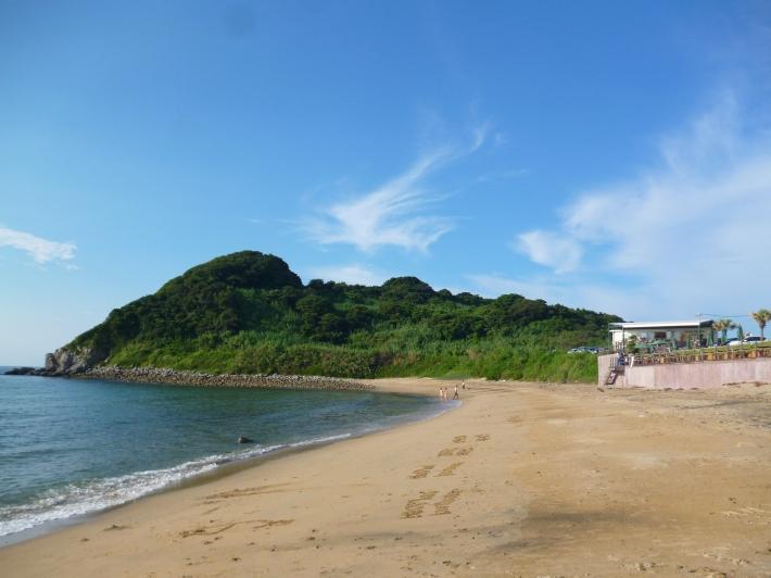 La playa, en los alrededores de Fukuoka