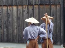Actores en el Museo de Dejima