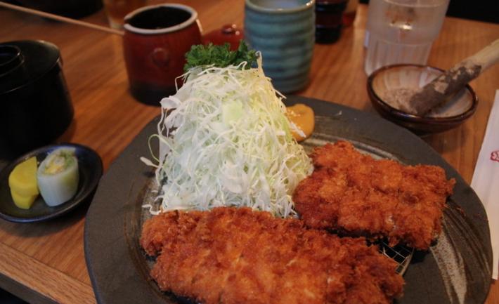 Una muestra de los menús de Katsuhama