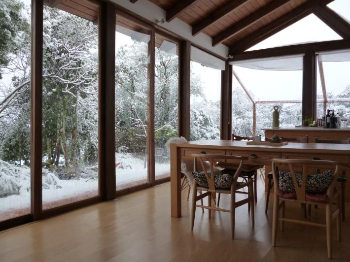Dentro y fuera (II). Mi casa, en Urb. El Jardinito, Sierra de Córdoba