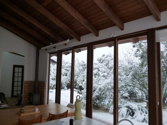 Dentro y fuera (I). Mi casa, en Urb. El Jardinito, Sierra de Córdoba