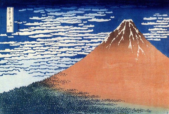 Monte Fuji. Katsushika Hokusai