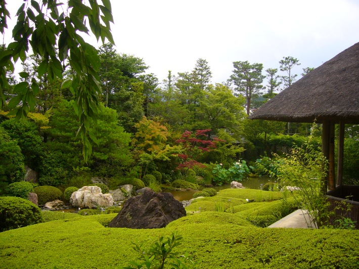 Jardín en Kioto