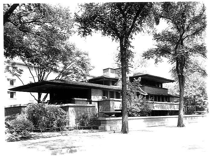 Prairie House. Frank Lloyd Wright