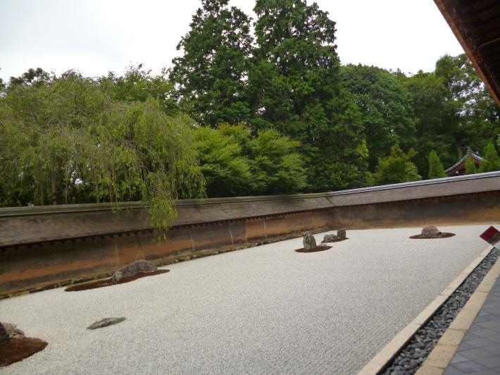 Jardín de piedras de Ryoanji, Kyoto