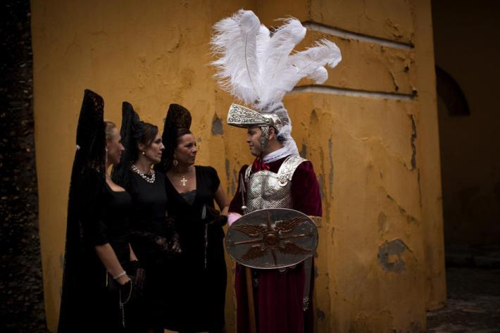 Mantillas y romano, foto de Shineyourlight.com
