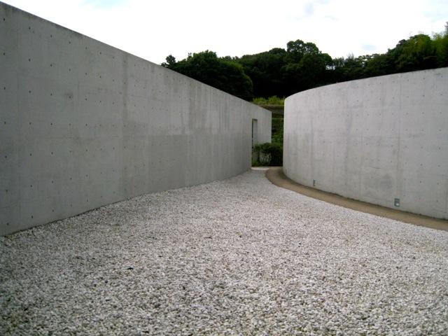 Entrada al Templo del Agua, Tadao Ando