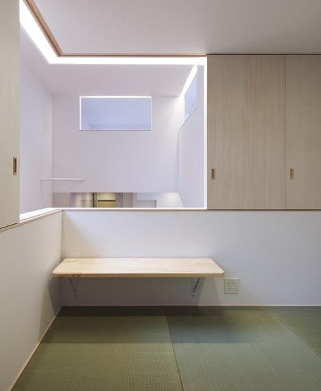 Washitsu (o habitación de estilo japonés). Arquitecta: Naoko Oribe-Fotografía: Eiji Tomita