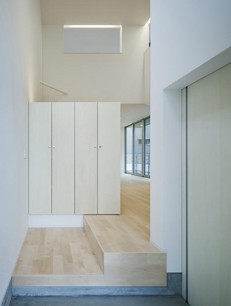 Genkan (entrada). Arquitecta: Naoko Oribe-Fotografía: Eiji Tomita