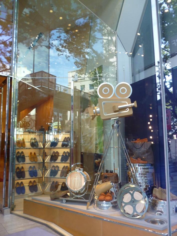 Escaparate tienda Tods Omotesando