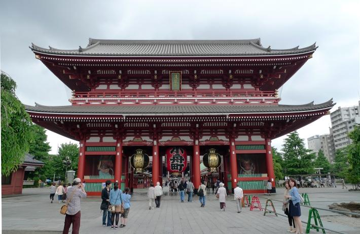 Puerta hacia el templo