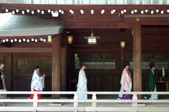 Ceremonia sintoísta de boda