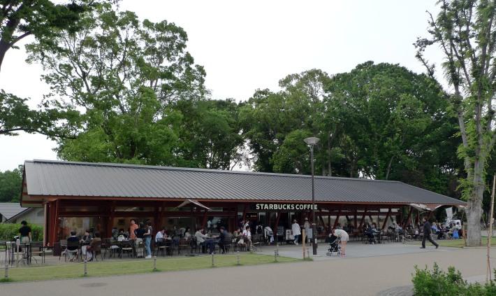 Starbucks en Ueno
