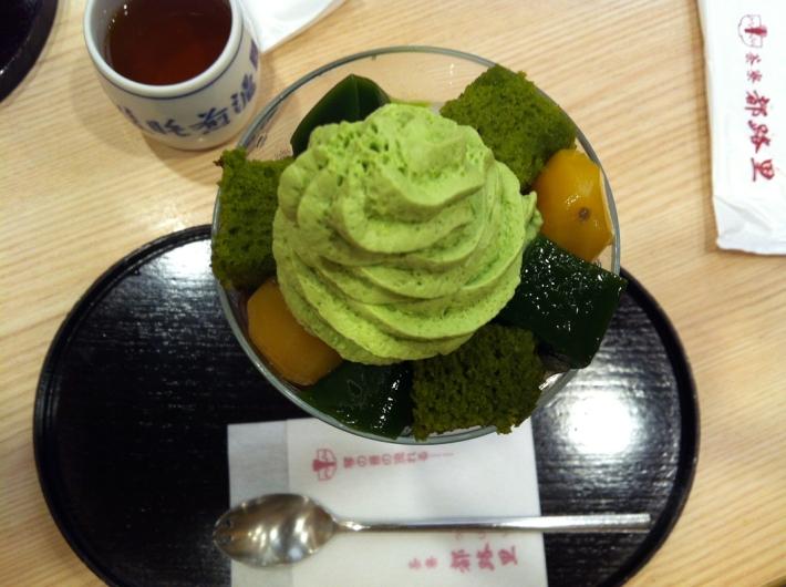 Matcha Parfait en Tsuriji