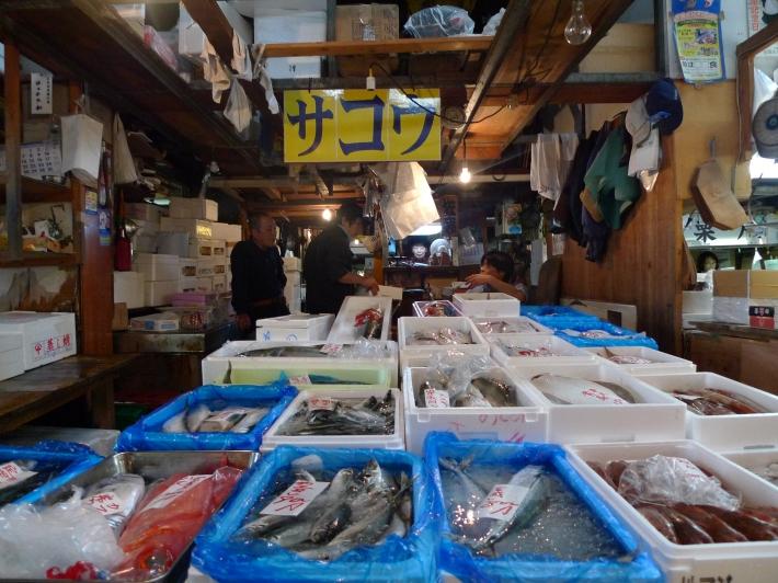 Puesto de pescado