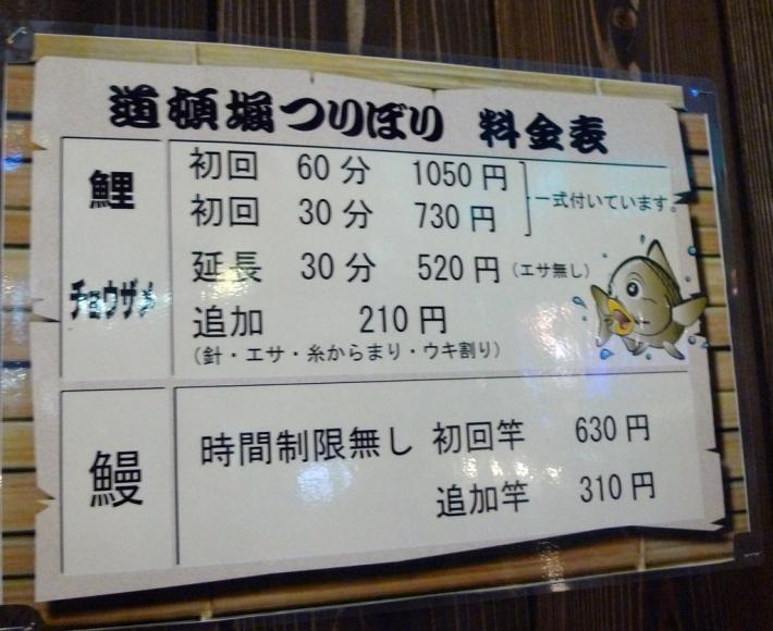 Precios para pescar la anguila