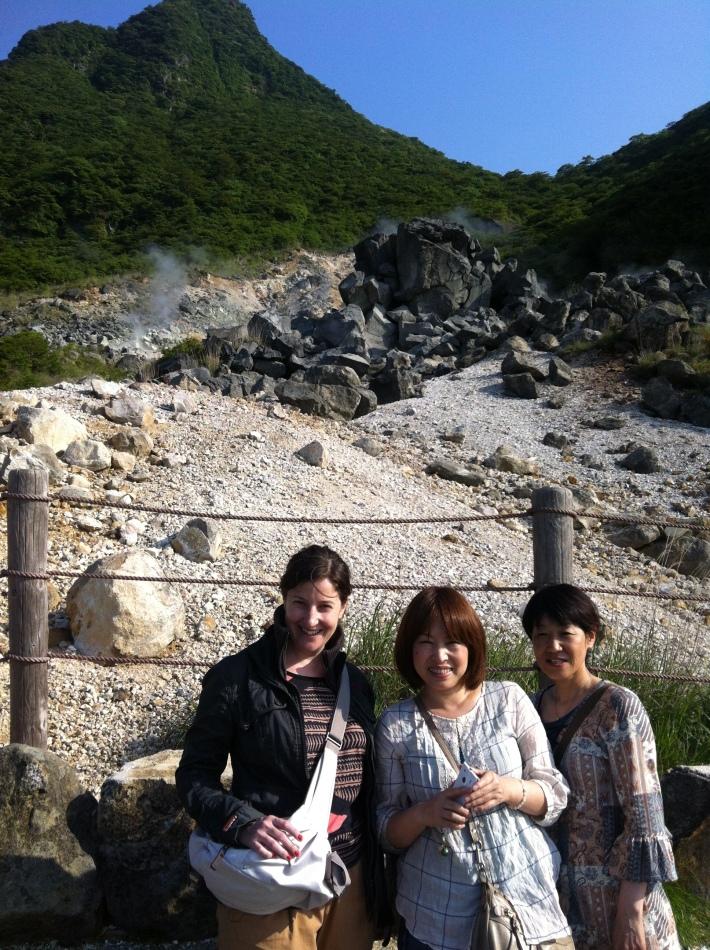 Jigoku con Yumi y Yôko