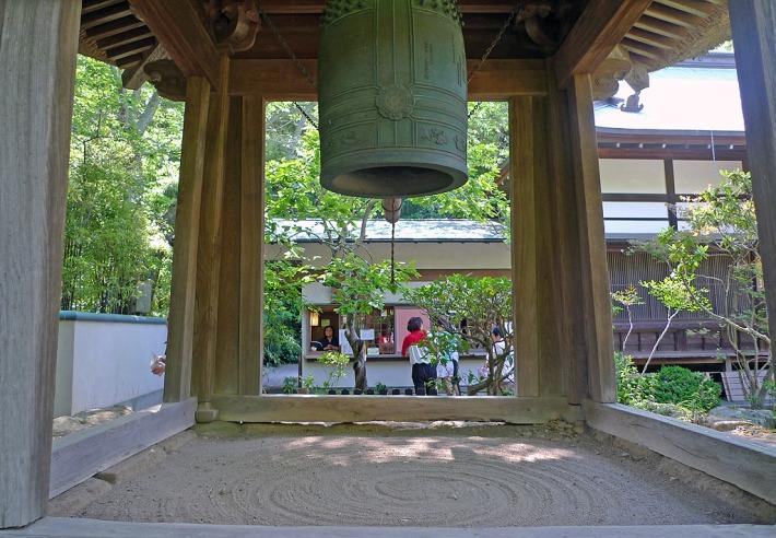 Campana en el templo Hokokuji