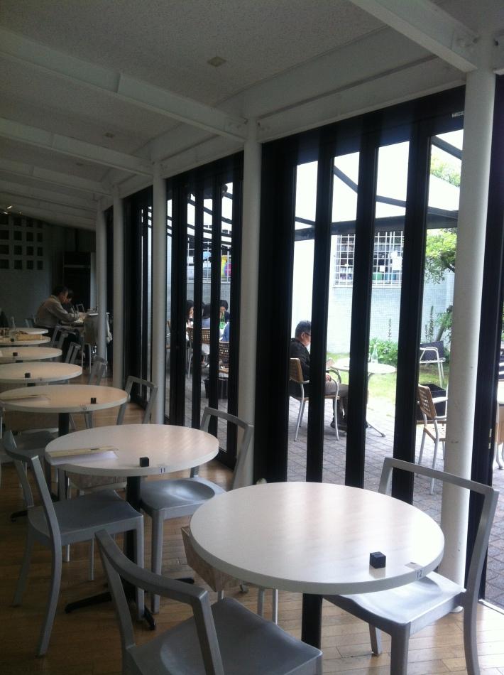 Cafetería del Hara Museum