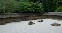 Jardín seco de Ryoanji