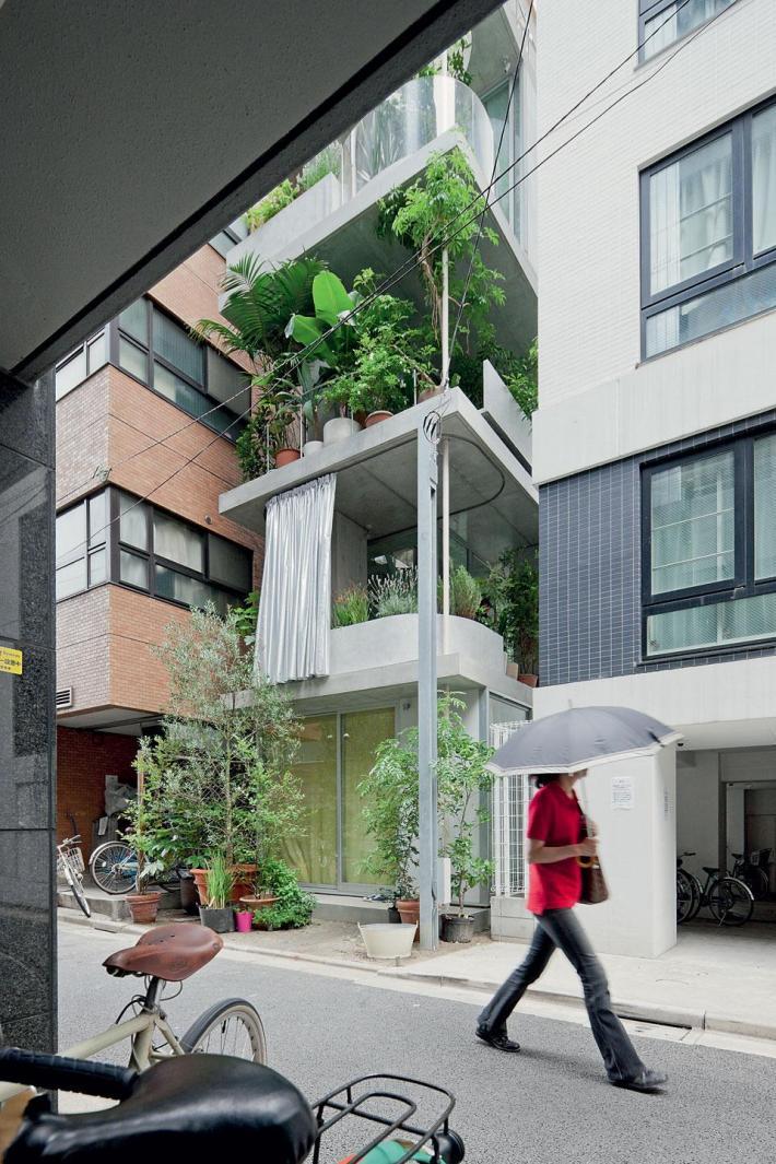 Casa-Jardín vertical en Tokio. Ryue Nishizawa. I. Bann ©