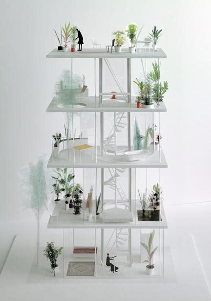 Casa-Jardín Vertical. Ryue Nishizawa ©