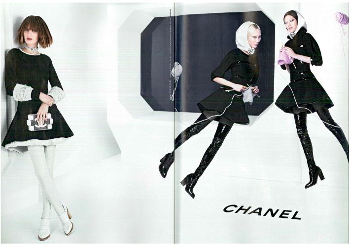 Anuncio de Chanel Asia con protagonismo asiático