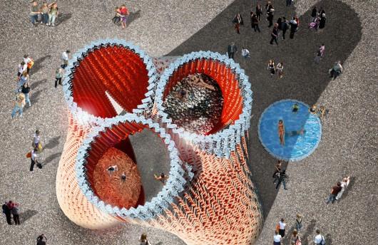 Foto de The Living: vista desde arriba de la torre