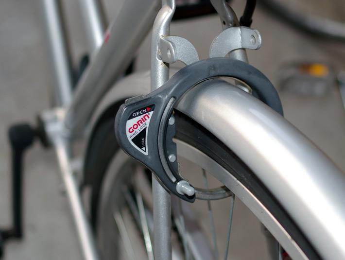 Candado de bici japonés