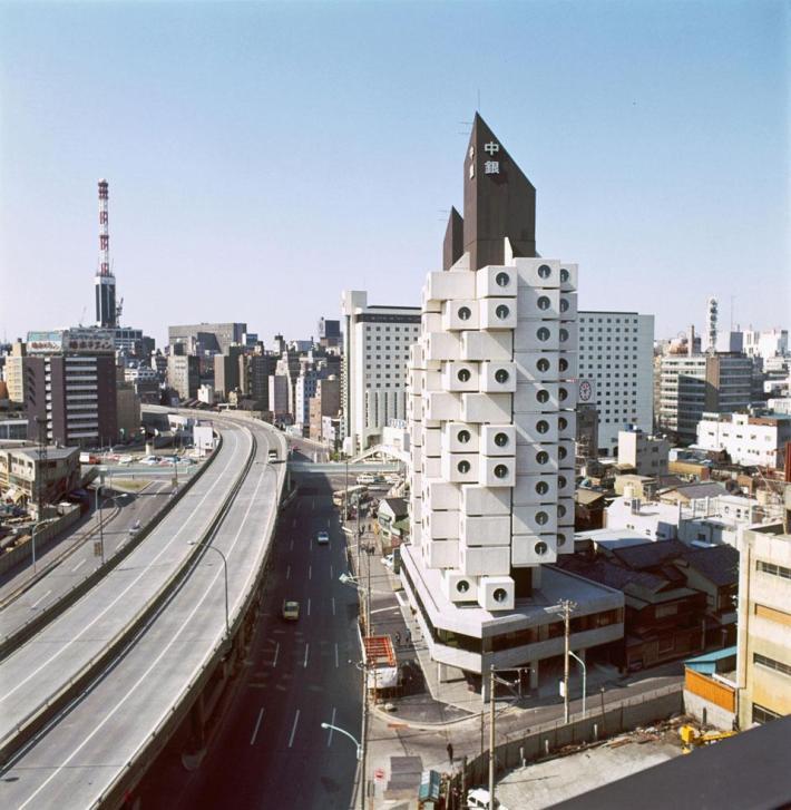 Torre de Cápsulas Nakagin. Kisho Kurokawa ©