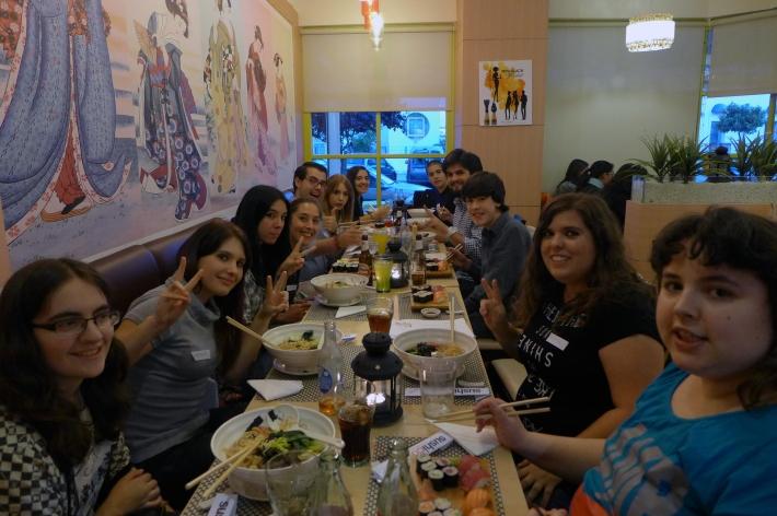Japonés en el restaurante 1