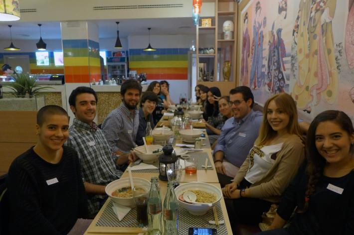 Japonés en el restaurante 12