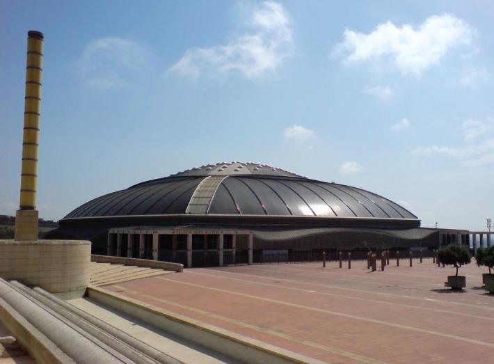 Palau Sant Jordi de Arata Isozaki