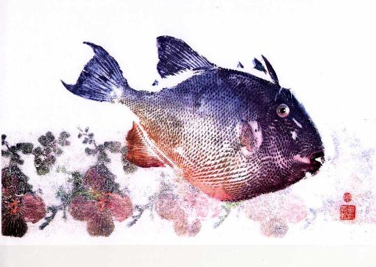 Gyotaku a color 1