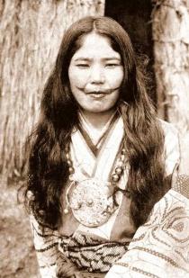 Mujer ainu