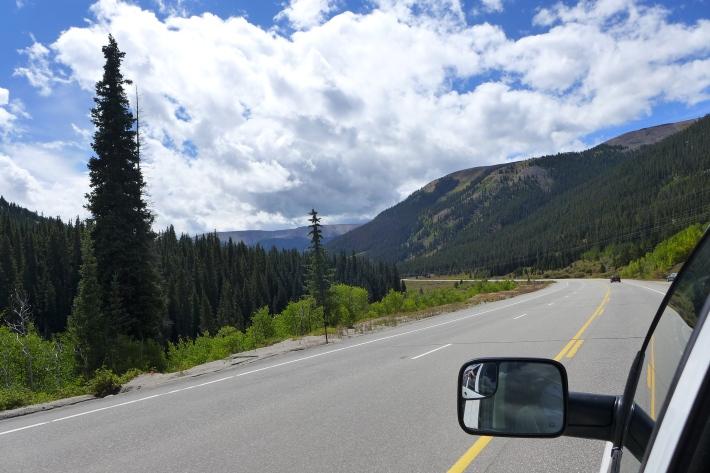 De camino a Pagosa Springs