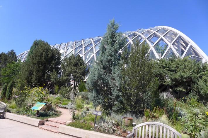 Invernadero del botánico de Denver